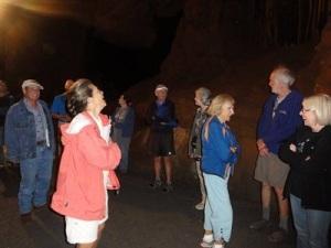 Caverns tour
