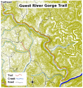 river gorge trail
