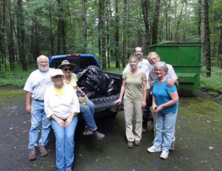 Todd Lake cleanup 1
