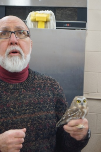 Retired Eastern Mennonite University biology professor Clair Mellinger tells about the migration behavior of Northern Saw-whet Owls.