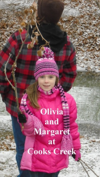 Olivia and Marge at CCreek 1-14-15