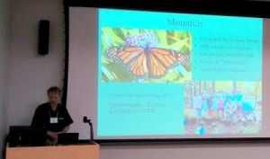 Steven Roble presents on insects of Virginia.