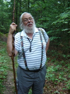 Botanist Eric Jones. Photo by Elaine Smith
