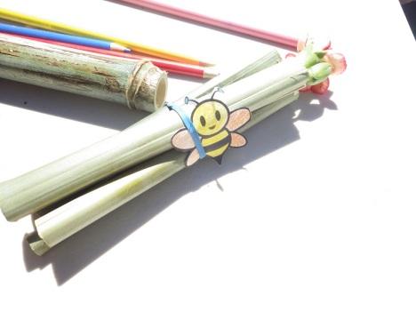 Bamboo Bee House