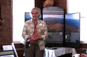 Lynn Cameron presented about Shenandoah Mountain wilderness at Buckhorn Inn.