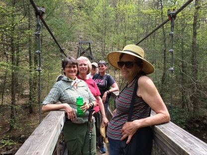 At North River Gorge Trail by Ann Murray.