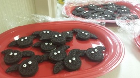 Bat cookies thanks to Janet James! Photo credit: Stephanie Gardner