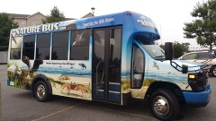 The Nature Bus (thenaturebus.com) provided transportation to and from some of the field trips that highlighted local natural areas and projects.